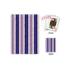 Native American Curly Stripes - 2 Playing Cards (Mini)