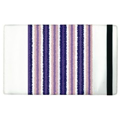 Native American Curly Stripes   2 Apple Ipad 3/4 Flip Case
