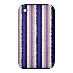 Native American Curly Stripes - 2 Apple iPhone 3G/3GS Hardshell Case (PC+Silicone)