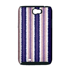 Native American Curly Stripes - 2 Samsung Galaxy Note 2 Hardshell Case (PC+Silicone)