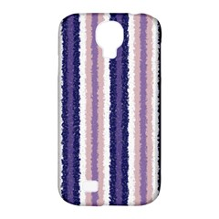 Native American Curly Stripes   2 Samsung Galaxy S4 Classic Hardshell Case (pc+silicone)