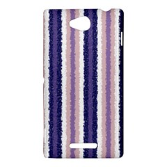 Native American Curly Stripes - 2 Sony Xperia C (S39H) Hardshell Case
