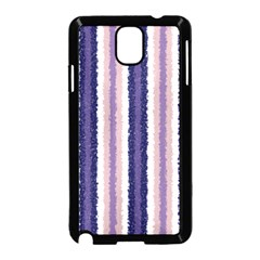 Native American Curly Stripes - 2 Samsung Galaxy Note 3 Neo Hardshell Case (Black)