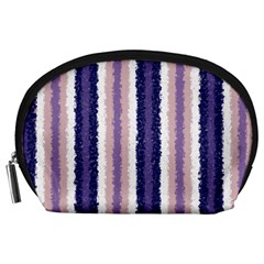 Native American Curly Stripes   2 Accessory Pouch (large)