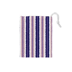 Native American Curly Stripes   2 Drawstring Pouch (small)