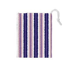 Native American Curly Stripes   2 Drawstring Pouch (medium)