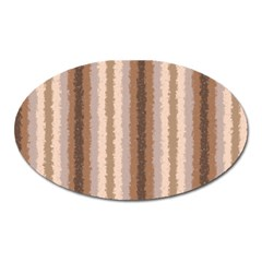 Native American Curly Stripes   3 Magnet (oval)