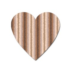 Native American Curly Stripes   3 Magnet (heart)