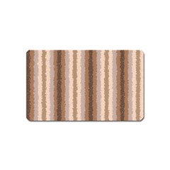 Native American Curly Stripes   3 Magnet (name Card)