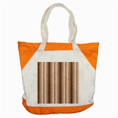 Native American Curly Stripes - 3 Accent Tote Bag
