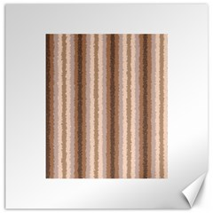 Native American Curly Stripes   3 Canvas 20  X 20  (unframed)