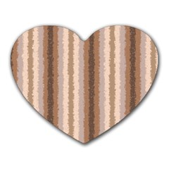 Native American Curly Stripes   3 Mouse Pad (heart)