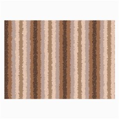 Native American Curly Stripes   3 Glasses Cloth (large, Two Sided)