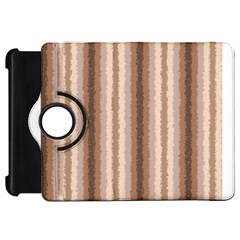 Native American Curly Stripes - 3 Kindle Fire HD Flip 360 Case