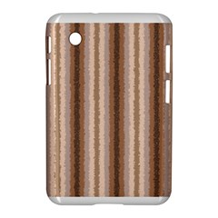 Native American Curly Stripes - 3 Samsung Galaxy Tab 2 (7 ) P3100 Hardshell Case