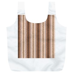 Native American Curly Stripes - 3 Reusable Bag (XL)