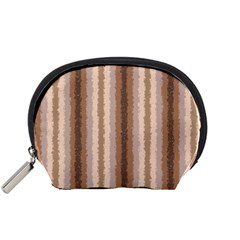 Native American Curly Stripes   3 Accessory Pouch (small)