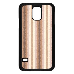 Native American Curly Stripes - 3 Samsung Galaxy S5 Case (Black)