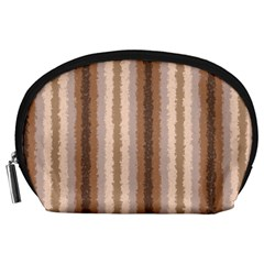 Native American Curly Stripes   3 Accessory Pouch (large)