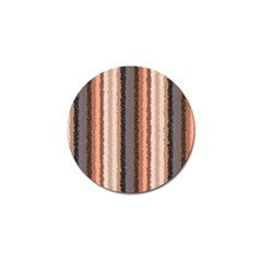Native American Curly Stripes   4 Golf Ball Marker