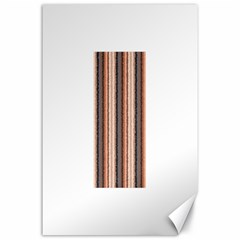 Native American Curly Stripes - 4 Canvas 24  x 36  (Unframed)