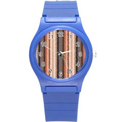 Native American Curly Stripes   4 Plastic Sport Watch (small)