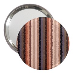 Native American Curly Stripes - 4 3  Handbag Mirror