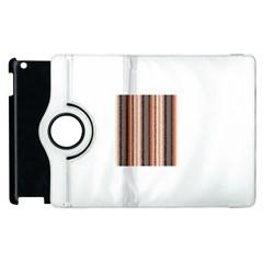 Native American Curly Stripes   4 Apple Ipad 2 Flip 360 Case
