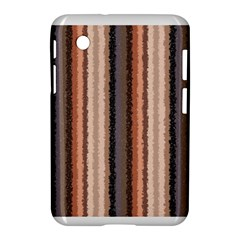 Native American Curly Stripes - 4 Samsung Galaxy Tab 2 (7 ) P3100 Hardshell Case