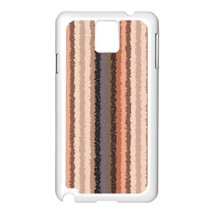 Native American Curly Stripes   4 Samsung Galaxy Note 3 N9005 Case (white)