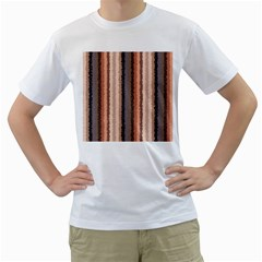 Native American Curly Stripes - 4 Men s T-Shirt (White)