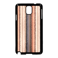 Native American Curly Stripes - 4 Samsung Galaxy Note 3 Neo Hardshell Case (Black)