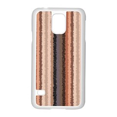 Native American Curly Stripes - 4 Samsung Galaxy S5 Case (White)