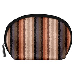 Native American Curly Stripes   4 Accessory Pouch (large)