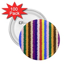 Vivid Colors Curly Stripes   1 2 25  Button (100 Pack)