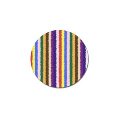 Vivid Colors Curly Stripes - 1 Golf Ball Marker