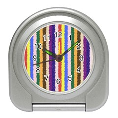 Vivid Colors Curly Stripes - 1 Desk Alarm Clock
