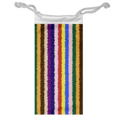 Vivid Colors Curly Stripes - 1 Jewelry Bag