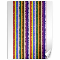 Vivid Colors Curly Stripes - 1 Canvas 12  x 16  (Unframed)