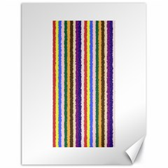 Vivid Colors Curly Stripes - 1 Canvas 18  x 24  (Unframed)