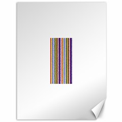 Vivid Colors Curly Stripes - 1 Canvas 36  x 48  (Unframed)