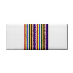 Vivid Colors Curly Stripes   1 Hand Towel