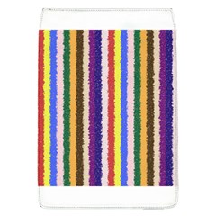 Vivid Colors Curly Stripes   1 Removable Flap Cover (large)