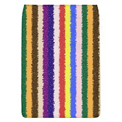 Vivid Colors Curly Stripes - 1 Removable Flap Cover (Small)