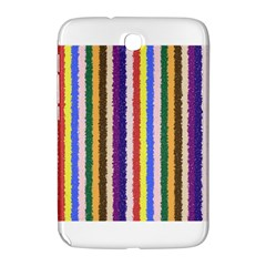 Vivid Colors Curly Stripes - 1 Samsung Galaxy Note 8.0 N5100 Hardshell Case
