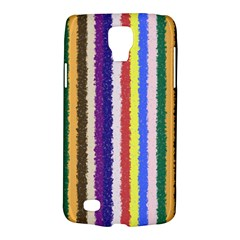 Vivid Colors Curly Stripes   1 Samsung Galaxy S4 Active (i9295) Hardshell Case