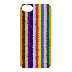 Vivid Colors Curly Stripes - 1 Apple iPhone 5S Hardshell Case
