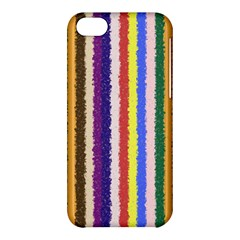 Vivid Colors Curly Stripes - 1 Apple iPhone 5C Hardshell Case