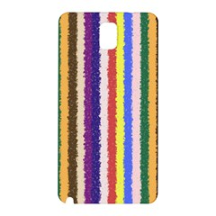 Vivid Colors Curly Stripes - 1 Samsung Galaxy Note 3 N9005 Hardshell Back Case
