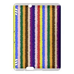 Vivid Colors Curly Stripes - 1 Kindle Fire HDX Hardshell Case